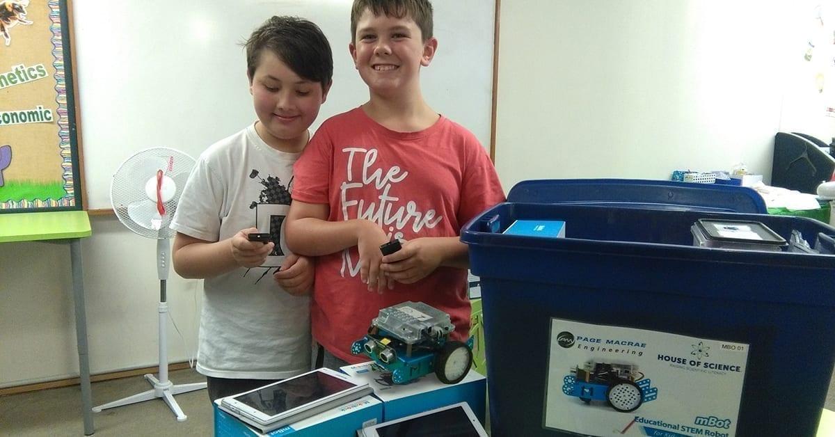 House of Science Tauranga robotics kits