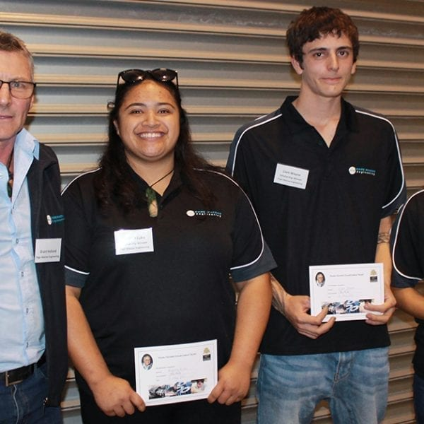 Page Acorn Scholarships awarded to Page Macrae Engineering Apprentices