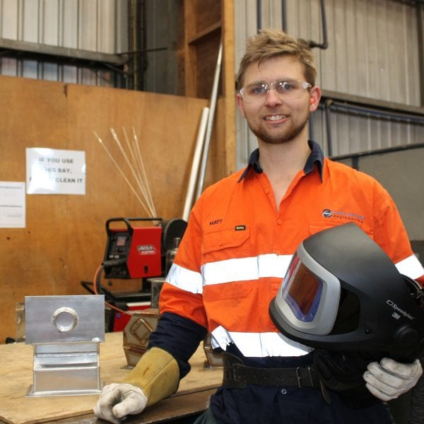 Third-year apprentice Matt Nielsen off to WorldSkills