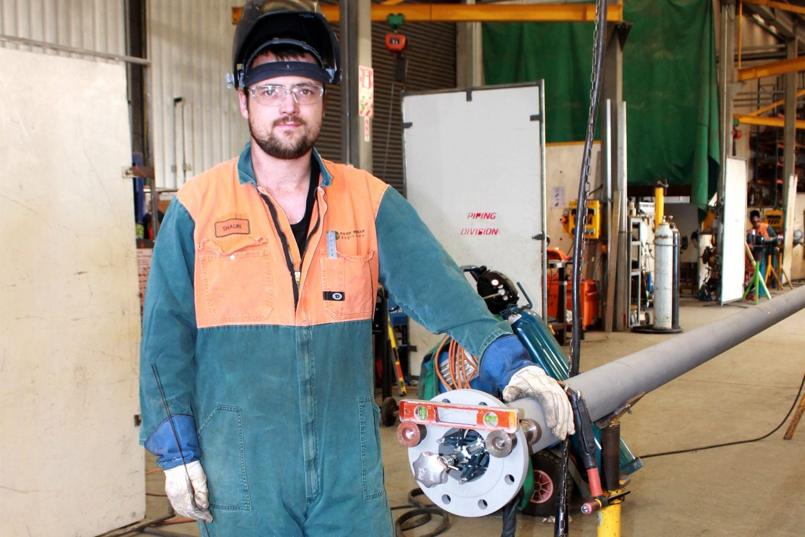Page Macrae Engineering newly qualified Tradesperson