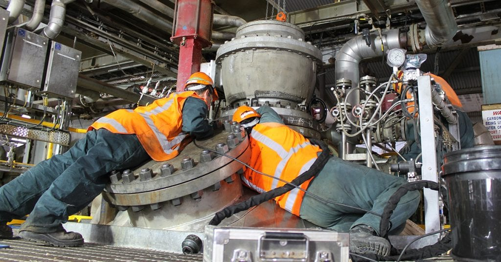 PME Engineers complete plant shutdown maintenance