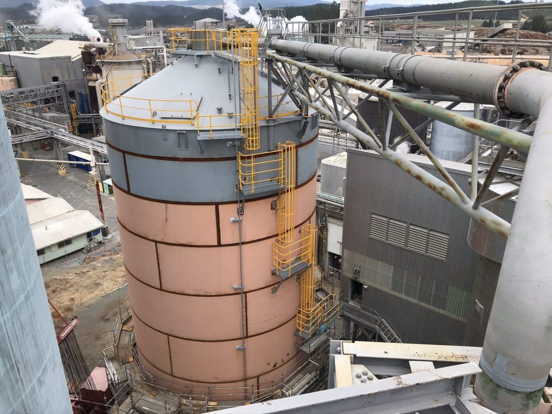 Page Macrae Engineering refurbish pulp tank at Kinleith mill